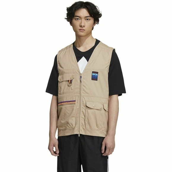 NEW Adidas Adiplore 2.0 Gilet Mens Vest Jacket XL